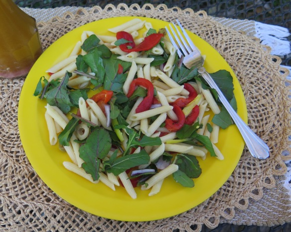 Arugula and Penne Pasta Salad - IMG_7410