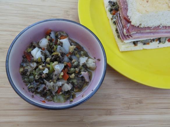 Homemae Olive Salad Spread - IMG_7171