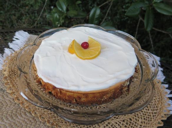Luscious Lemon Ricotta Cheesecake - IMG_7048