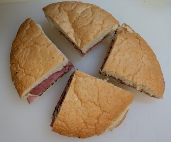 Muffuletto Sandwich - cut - 2 - IMG_7153