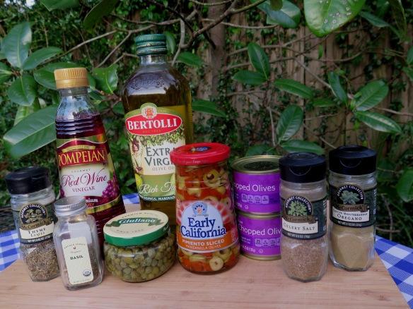 Olive Oil Dressing Ingredients - IMG_7127
