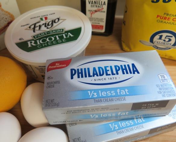 Ricotta Cheeese and Cream Cheese - IMG_6878