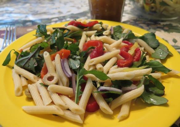Salad on plate - IMG_7400