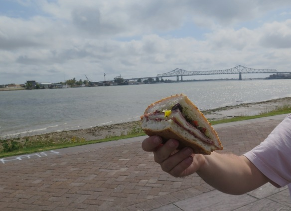 Sandwich along Mississippi River - IMG_5233