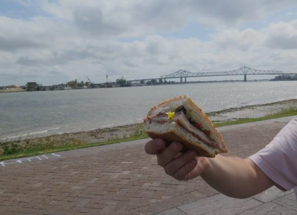 Sandwich along Mississippi River - IMG_5233