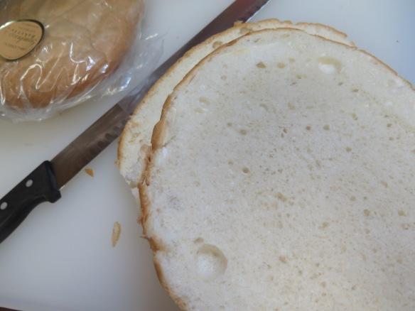 Sliced Italian round bread - IMG_7146