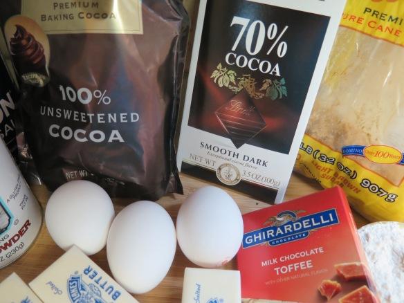 Three chocolate ingredients - IMG_7256