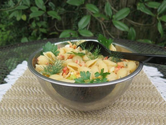 Bowl of Crawfish Pasta Salad - IMG_8141