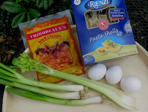 Crawfish Pasta Salad Ingredients - IMG_8100