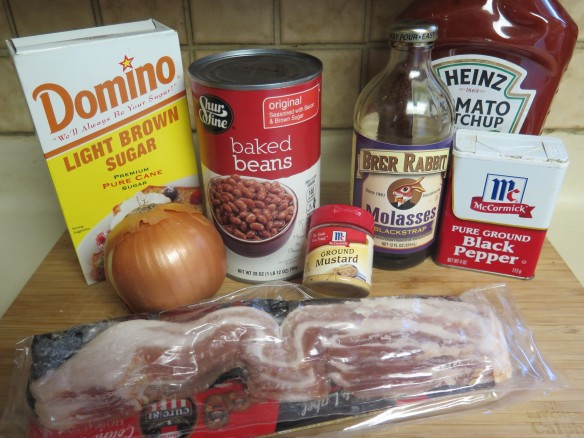 Ingredients for Baked Beans - IMG_6830_1