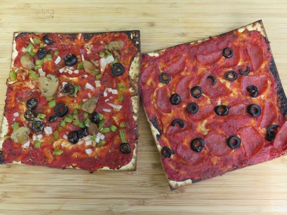 More Matzo Pizzas - IMG_8812
