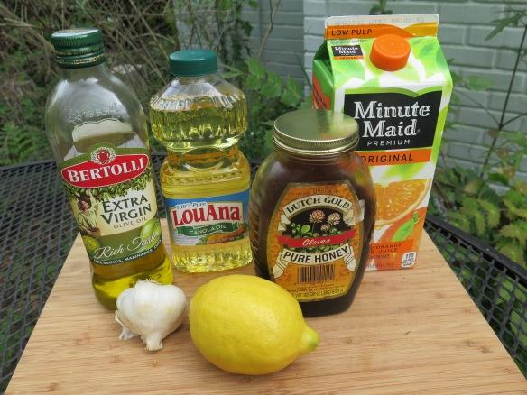 Salad Dressing Ingredients - IMG_8235