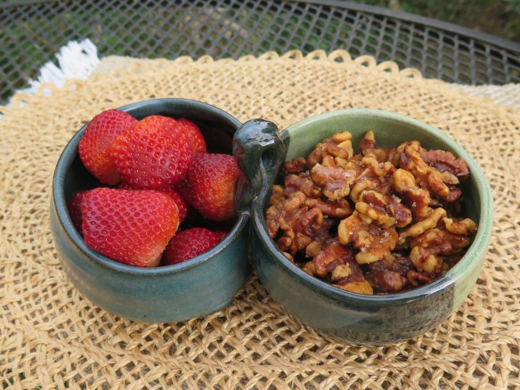 Salted Wantus and Louisiana Strawberries