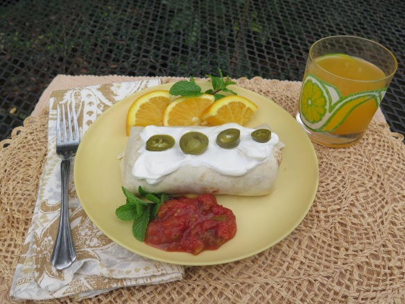 Breakfast Burrito for Dine-In Breakfast - IMG_6786