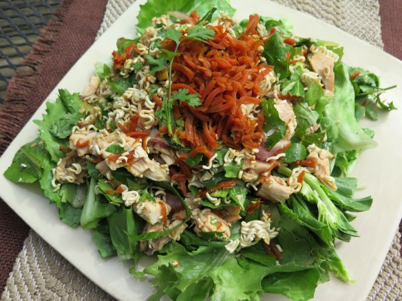 Oriental Chicken Salad with Carrot Relish - 3 - IMG_3586_1