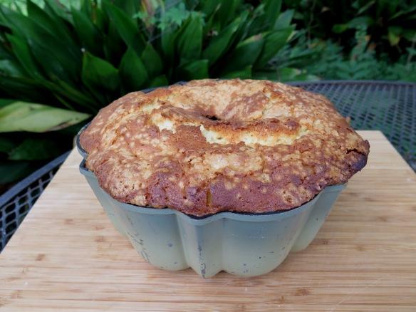 Baked Cake in Bundt Pan - IMG_9808