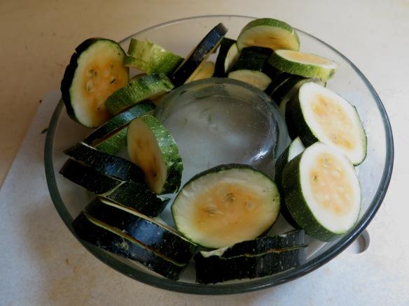 Steaming zucchini -- IMG_9609