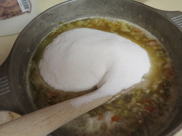 Adding sugar - IMG_0241