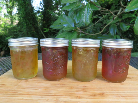 Banana Pepper Jelly and Hot Jalapeno Pepper Jelly - IMG_0401