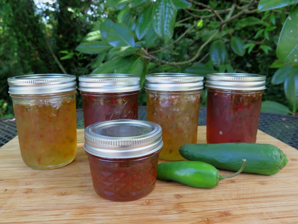Banana Pepper Jelly and Hot Jalapeno Pepper Jelly - IMG_0403_1