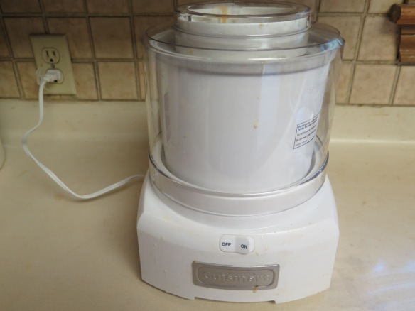 Cuisinart Ice Cream Maker - IMG_0169
