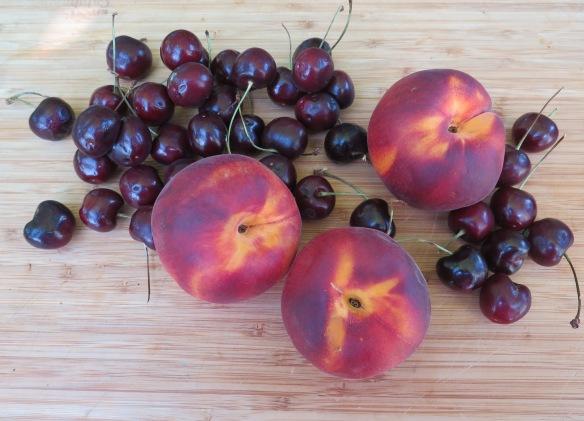 Peaches and Cherries - IMG_0155