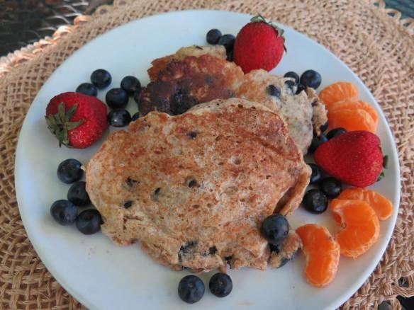 Blueberry Buttermilk Whole Wheat Pancakes - 2 - IMG_9728_1