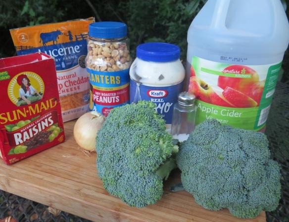 Broccoli Salad Ingredients - IMG_0682