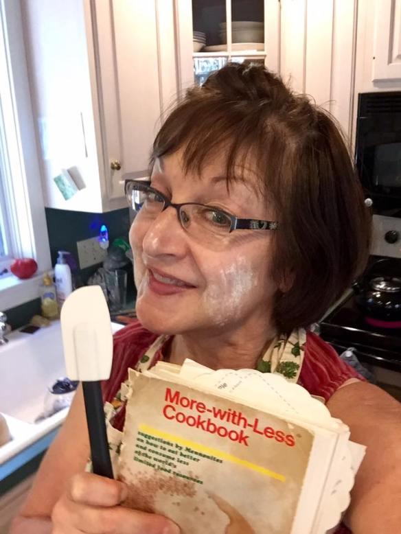 Carol Moser Wenger and Cookbook