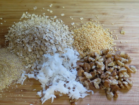Ingredients for Granola - IMG_9490