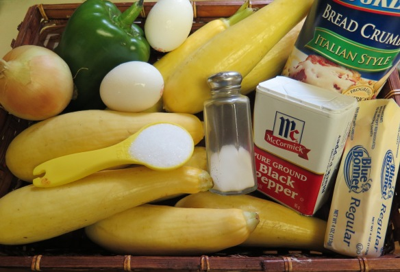 Ingredients for Squash Casserole - IMG_0623