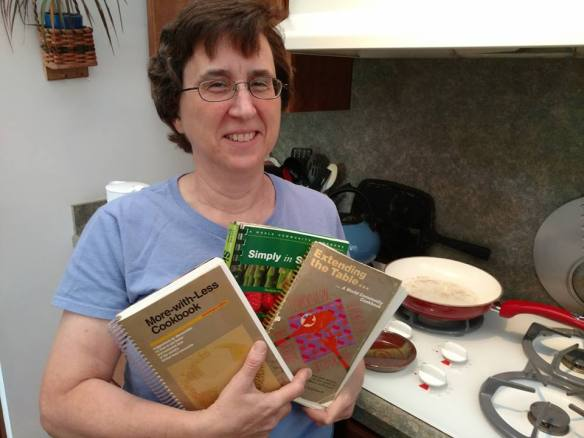 Mary Evelyn and cookbook