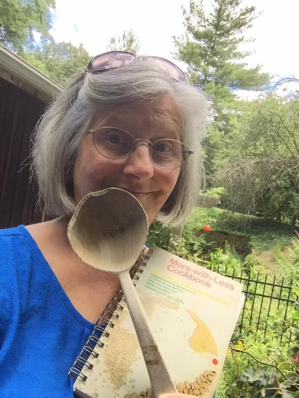 Mary Purves Liechy and cookbook