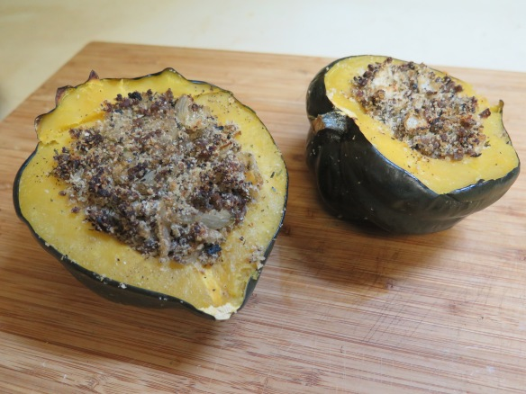 acorn-squash-stuffed-with-sausage